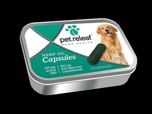 Pet Releaf CBD Capsules 10pk, 150 mg