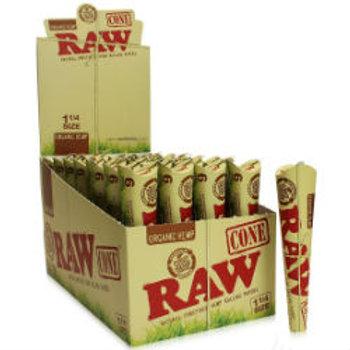 Raw Organic Hemp 6pk Cone
