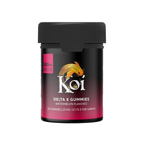 Koi Delta-8 Gummies (500 mg), Watermelon