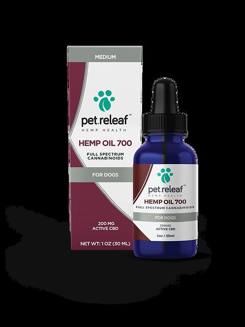 Pet Releaf CBD Oil 700, 200 mg tincture