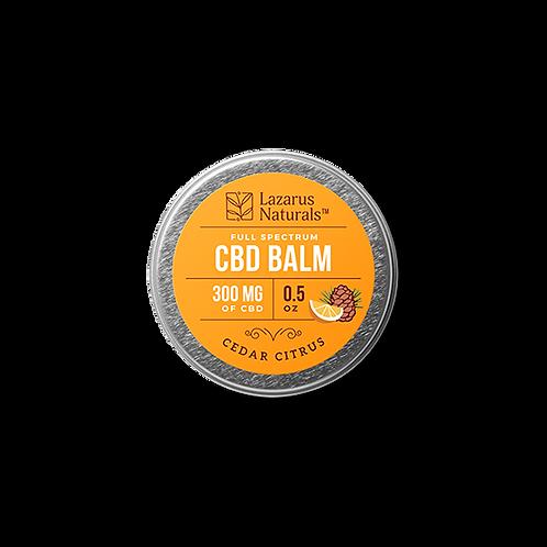 Lazarus Naturals .5oz Balm 300mg - Cedar Citrus