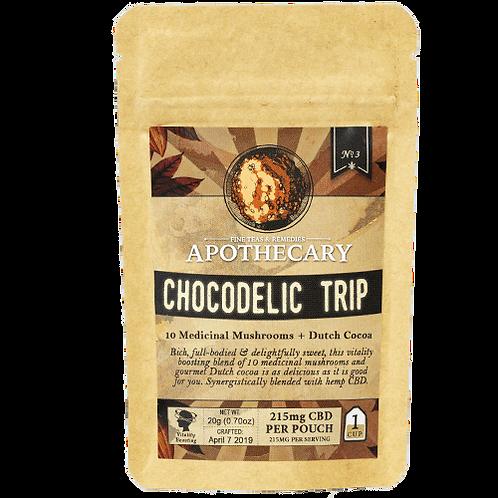 Apothecary Powder Drink Mix, Chocodelic Trip, 215mg