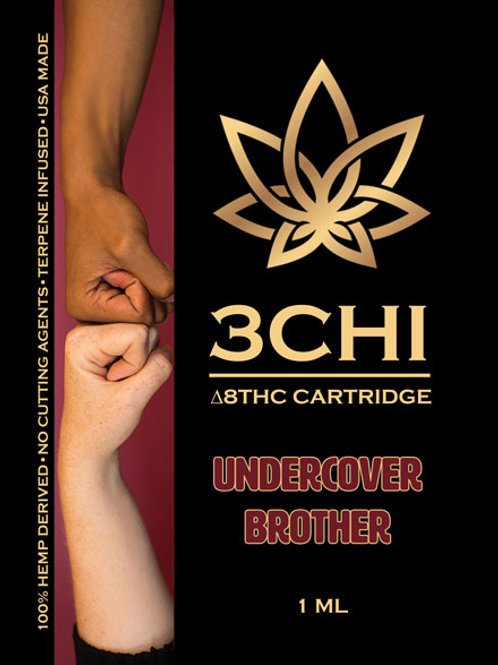 3Chi Delta-8 Vape - 950 mg (Undercover Brother)