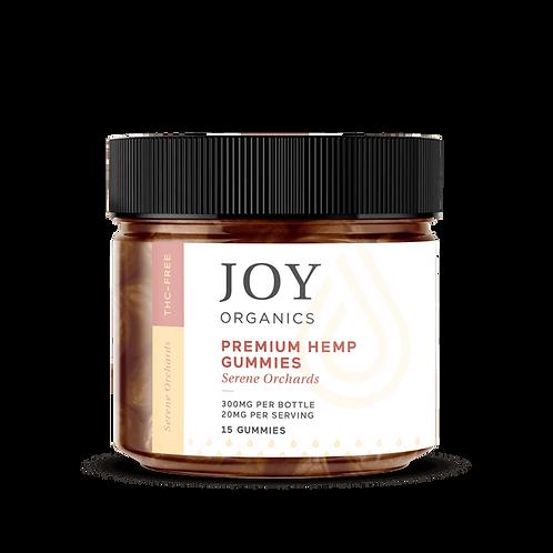 Joy Premium CBD Gummies Serene Orchards - 15ct 300mg