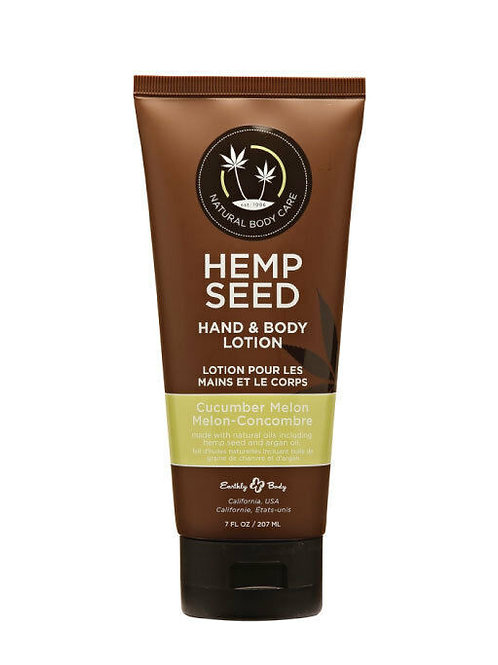 Earthly Body Hemp Seed Lotion 1oz - Cucumber Melon
