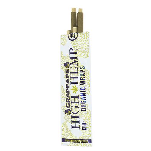 High Hemp Organic Wraps - Grapeape
