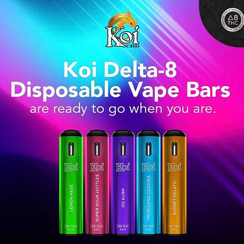 Koi Delta-8 disposable Vape Carts (0.5 gram), OG Kush