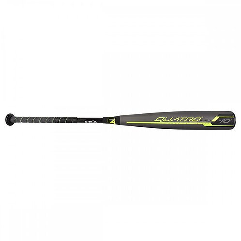 Rawlings 2019 Quatro Pro (-10) USA Baseball Bat