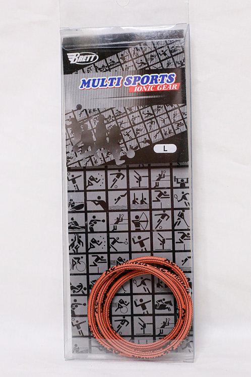 Brett Multi Sport Ionic Gear Skinny Necklace