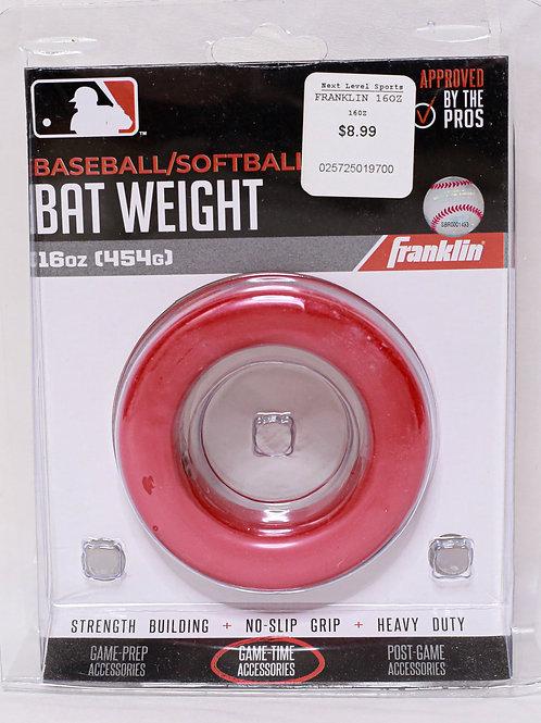 Franklin 16oz. Bat Weight