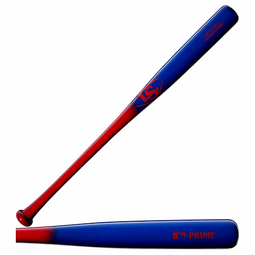 Louisville Slugger 2020 Youth Prime Maple Y271 Deep Red/Electric Bl Baseball Bat