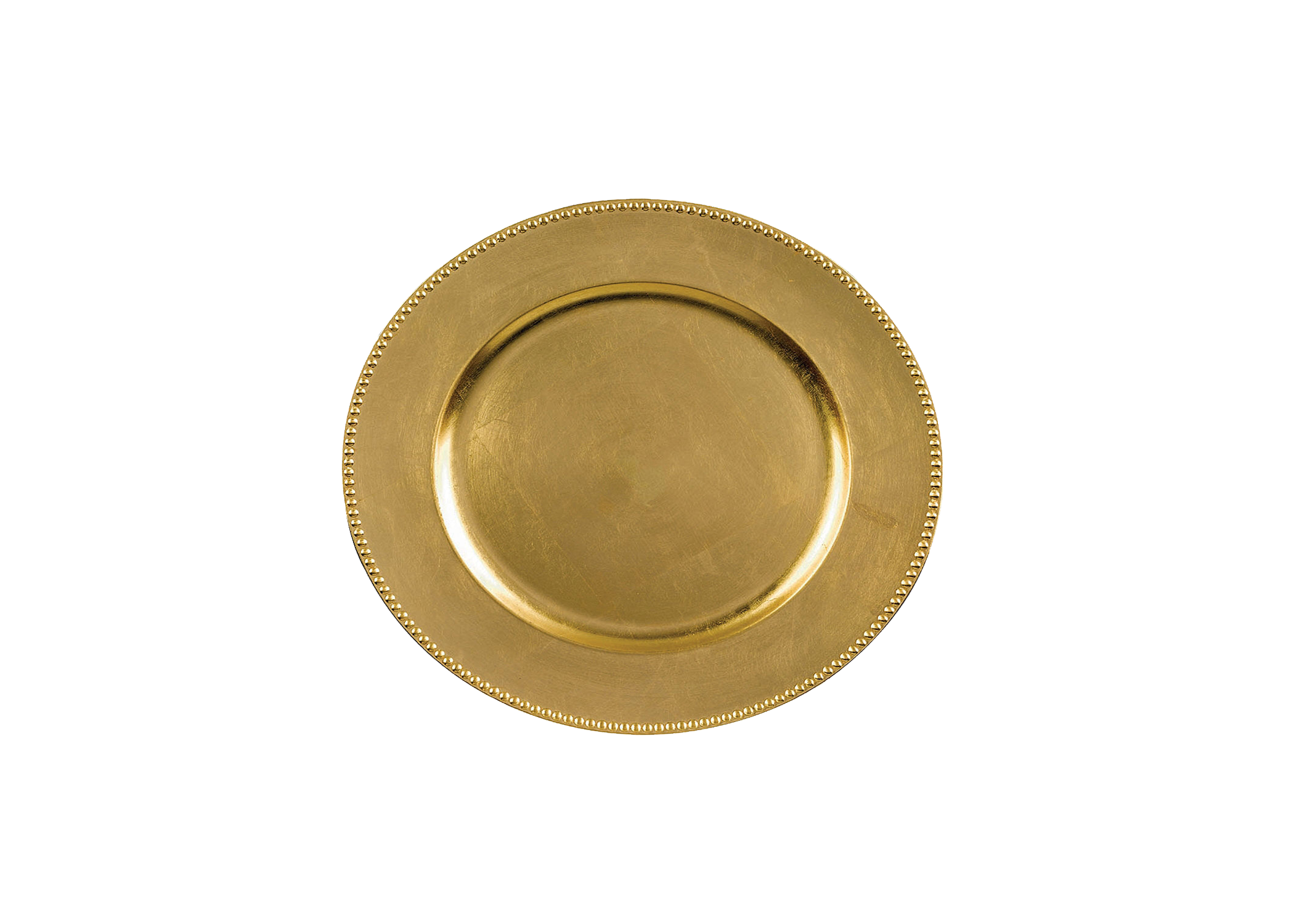 Gold Bead Charger