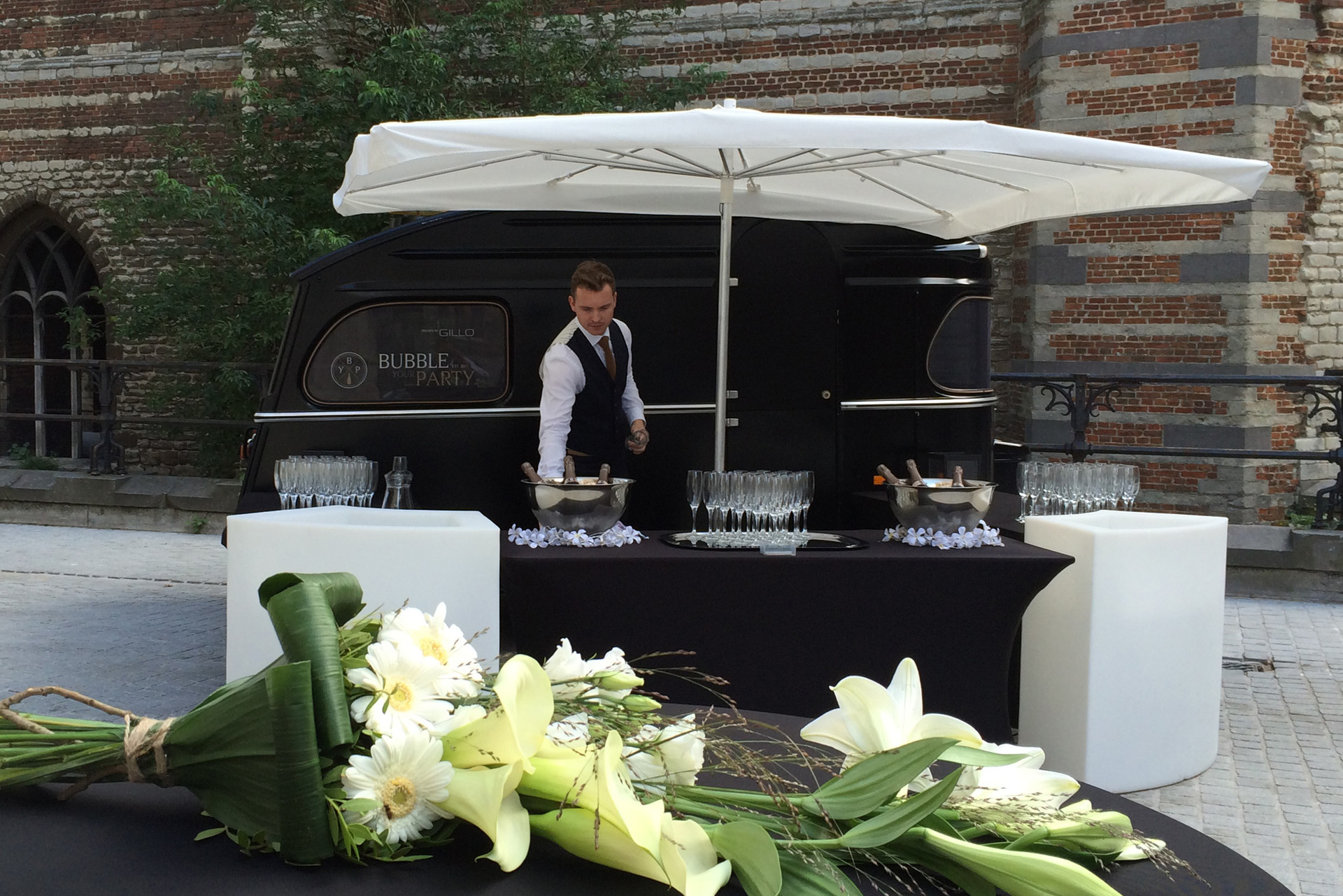 BYP mobiele champagnebar