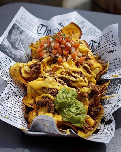 Panchos = Plantain Chips Nachos