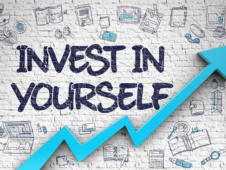 Investing in yourself - positive change