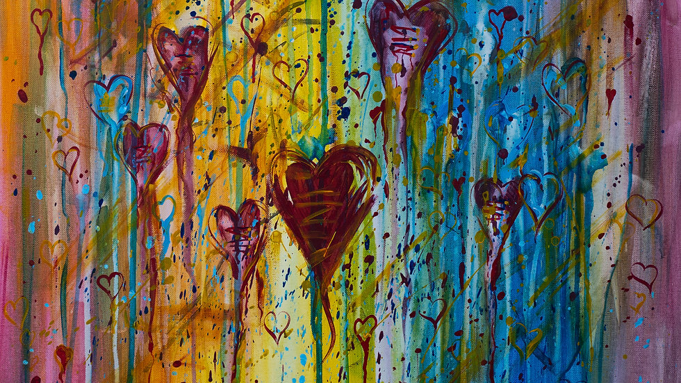 All Hearts By Chris Branham 8.5 X11