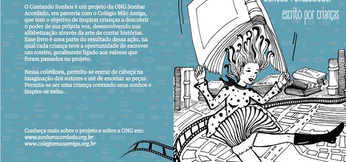Produto Final Capa de Livro- Livro de roteiros para contos Fantásticos!