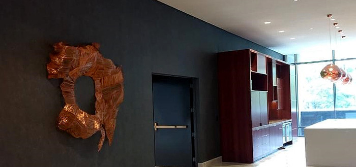Escultura para o Hotel Four Seasons São Paulo