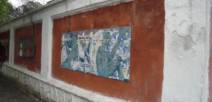 Escola na Praça - Projeto Escola Aprendiz e Cooperativa de Artistas Visuais do Brasil.
