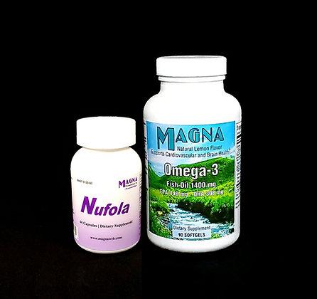 Nufola & MAGNA Omega-3 Bundle