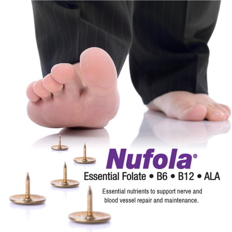 Instead of just masking the symptoms of neuropathy, treat the cause of your pain with Nufola!