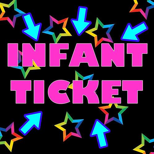 Infant weekend ticket