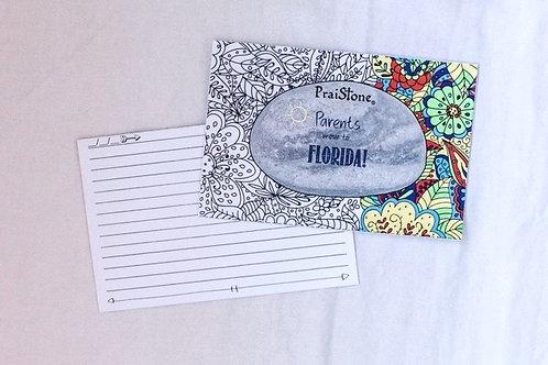 PraiStones Coloring Cards