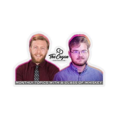 The Cogan Convo Sticker