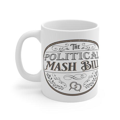Political Mash Bill Mug 11oz