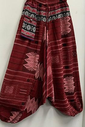 Tribal harem pants