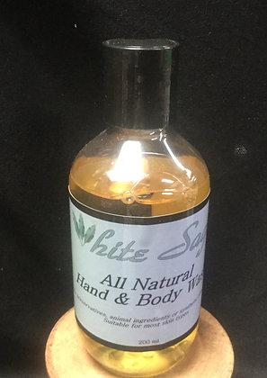 White Sage hand and body wash