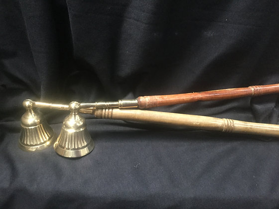 Brass candle sniffer