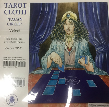 Tarot cloth-Pagan Circle