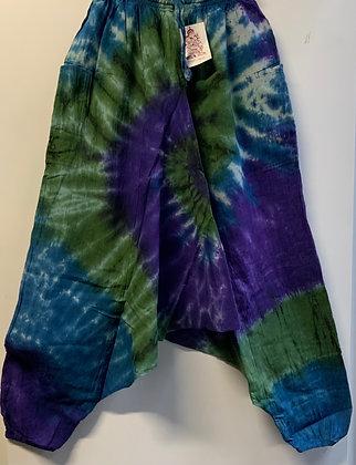 Low crotch harem pants