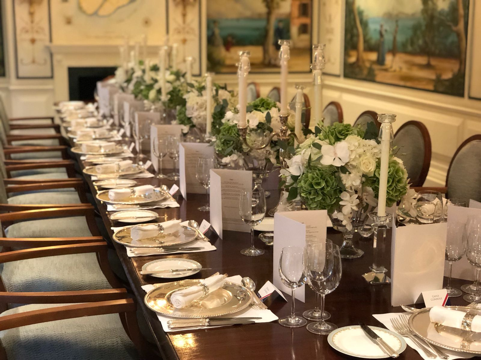 Savoy dinner party