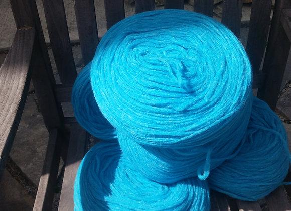 Blue Pencil Roving 100% Sheep's Wool