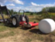 Signal Rock Farm Ford Tractor Plastic Wrap