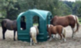 signal rock farm hay hut