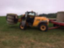 Signal Rock Farm JCB 524 Round Bale