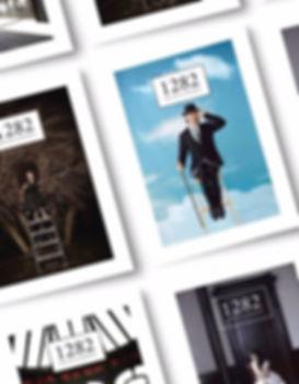 1282 RUE DE LA MAISON, bookzine fait à Montréal