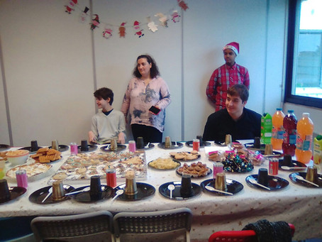 Notre fête de noël !