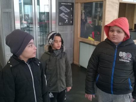 Sortie au cinéma de Montreuil !