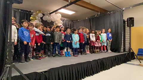 1st-2nd grade holiday songs