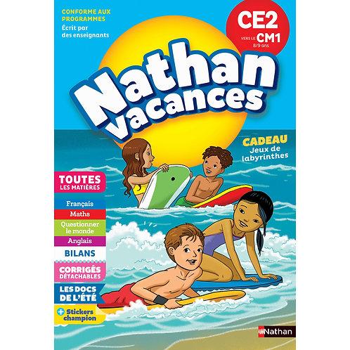 3rd to 4th Grade - Nathan Vacances