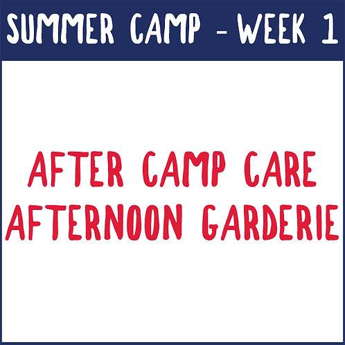 Week 1 Afternoon Garderie (June 21-25)