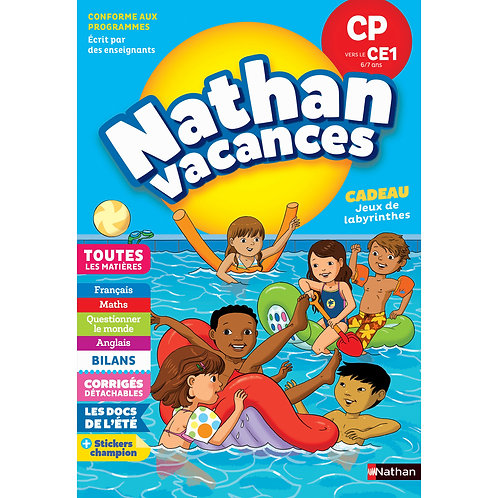 1st to 2nd Grade - Nathan Vacances