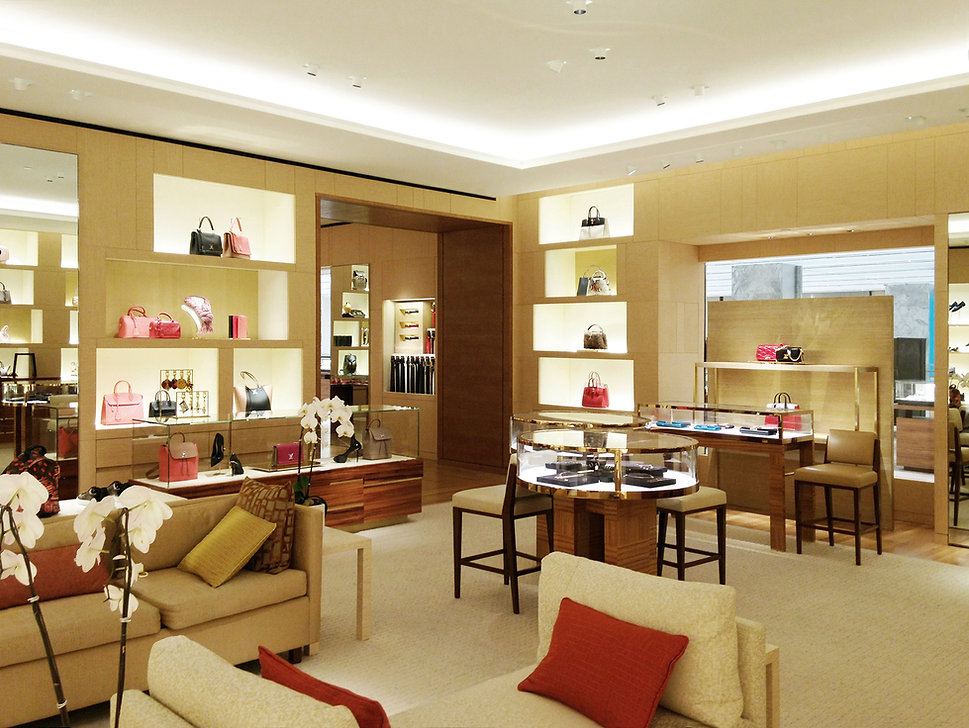 Louis Vuitton Holt Renfrew Vancouver Luxury Retail Store Interior