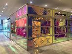Louis Vuitton Yorkdale men's pop-up shop enclosure
