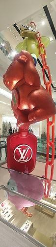 Louis Vuitton Holt Renfrew Bloor atrium art installation
