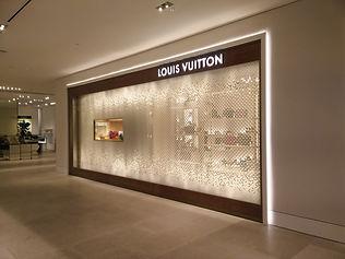Louis Vuitton Holt Renfrew Bloor façade display box